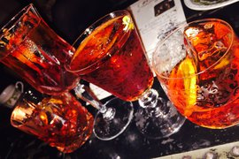 Negronis at Mr Fogg's