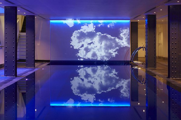 The subterranean pool at One Aldwych.