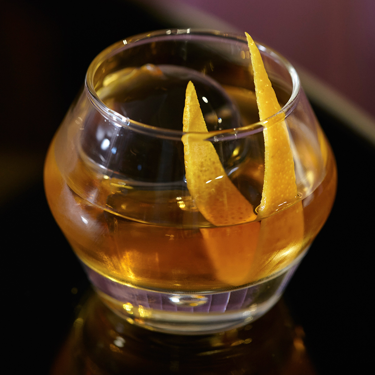 Heartwood Old Fashioned Cocktail