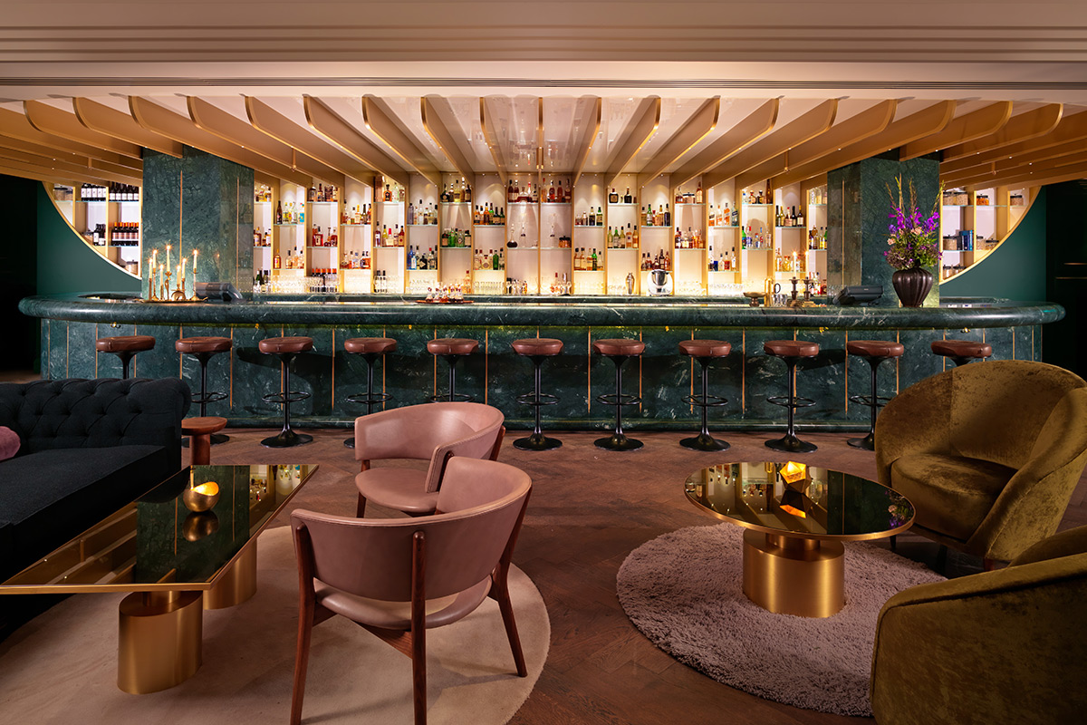 The bar at Dandelyan