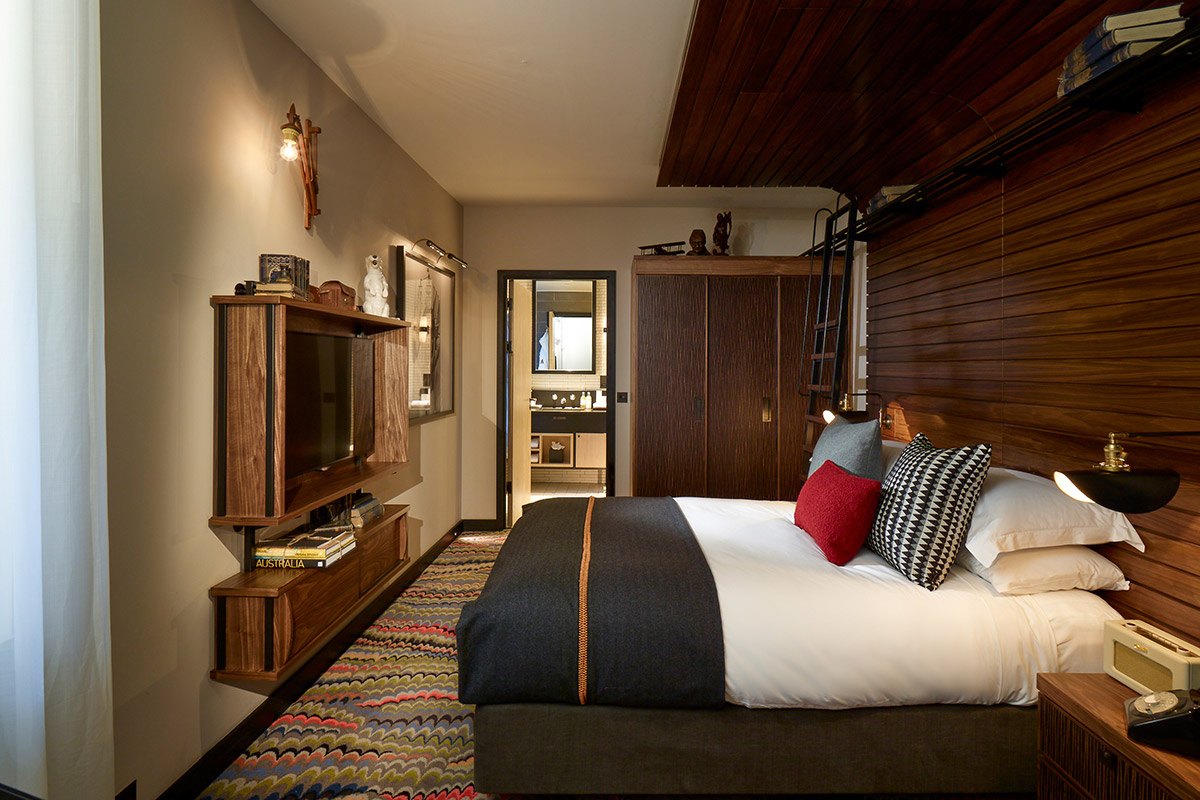 Medium Bedroom, The Hospital Club