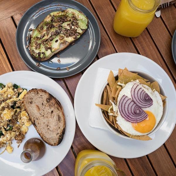 Breakfast at La Panadería