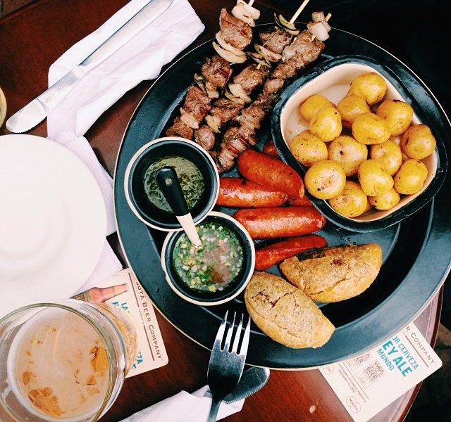 Lunch in Bogota