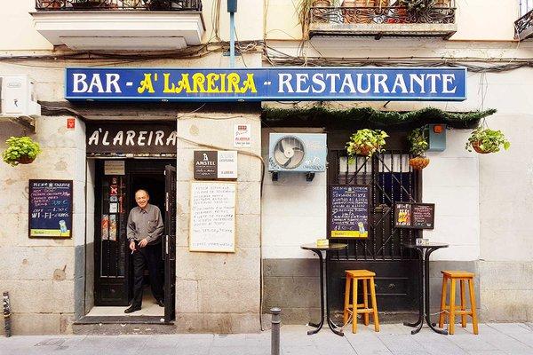 A Lareira bar in Madrid.