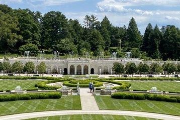 The Main Fountain Garden at Longwood Gardens.
