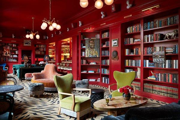 Bar Marilou at Maison de la Luz in New Orleans.