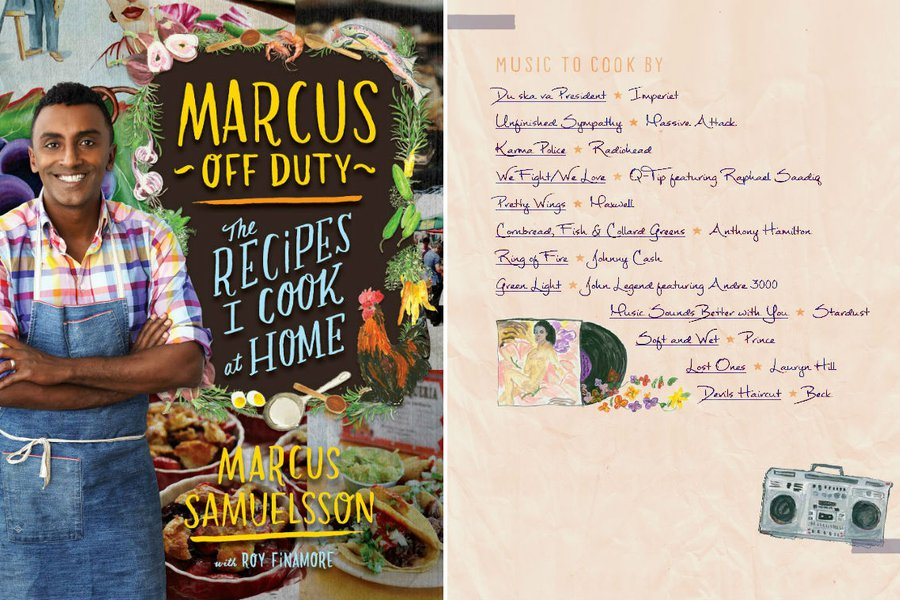 """Marcus Off Duty: The Recipes I Cook At Home"""