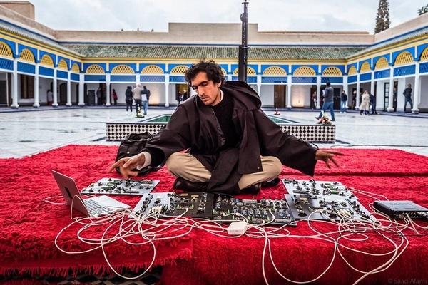 Tarek Atoui, Marrakech Biennale