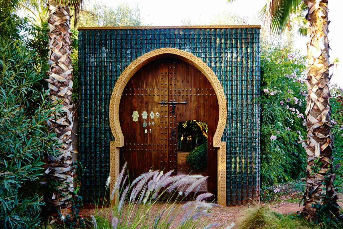 Anima Garden door, Marrakech