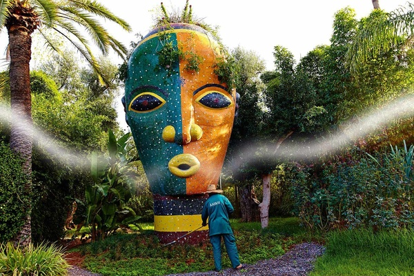 Anima Garden mask, Marrakech