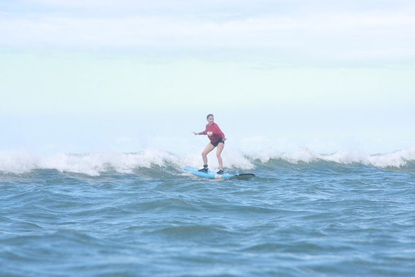 Shari Bayer Surfing