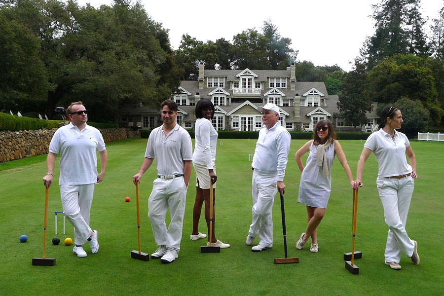 Meadowood croquet