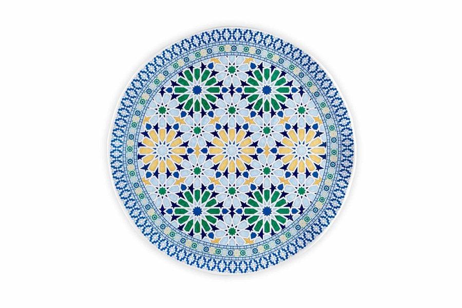 Q Squared Medina Platter