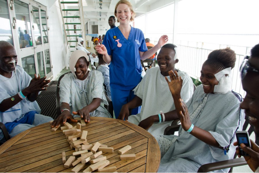 Photo courtesy of Mercy Ships.