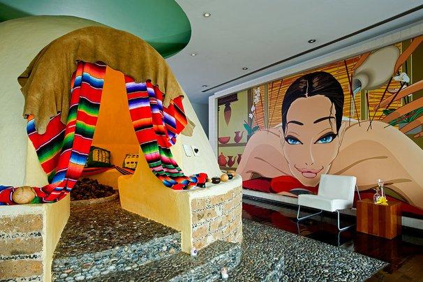 The Away Spa Temezcal Treatment at W Mexico City.