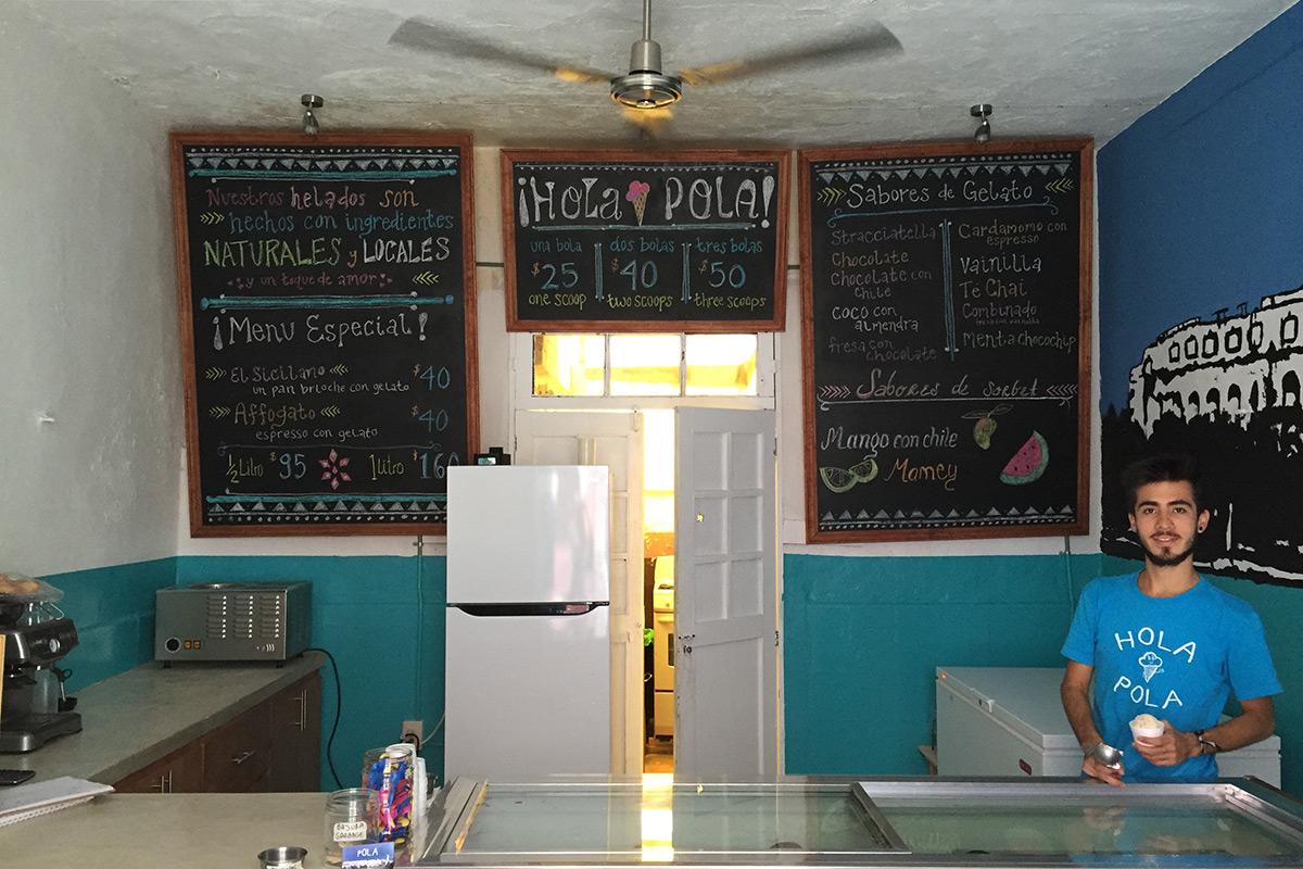 Ice Cream Shop, Merida, Mexico