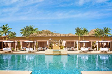 Adult only pool at Montage Los Cabos, Mexico.