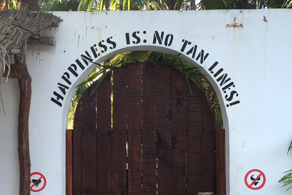 Door in Tulum, Mexico
