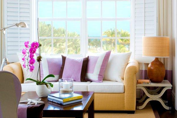 Interior decor at The Betsy South Beach