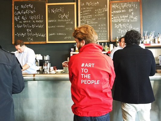 Art for the people: Hangar Bicocca Café
