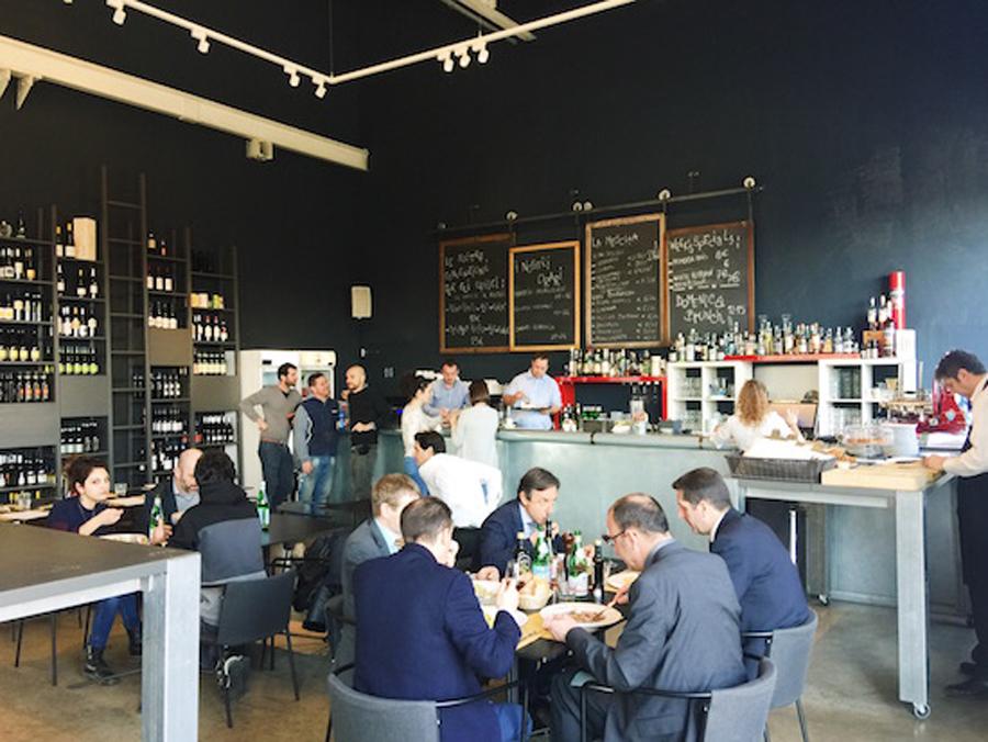 Pirelli Hangar Bicocca Café