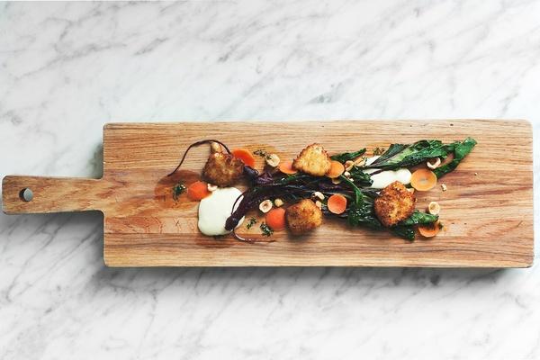 Dish from The Bachelor Farmer, Minneapolis, Minnesota