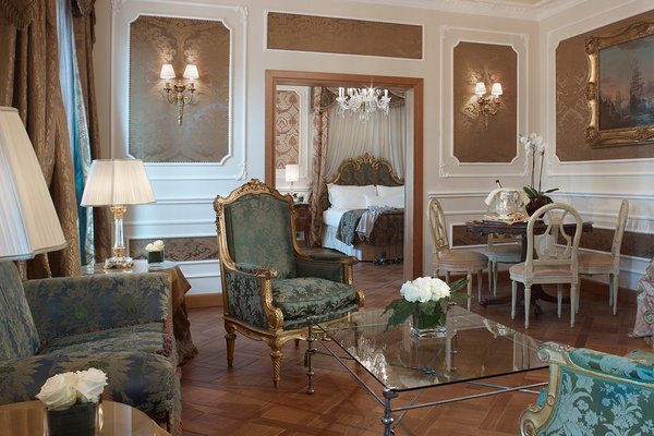 Montenapoleone Terrace Suite at Baglioni Hotel Carlton in Milan
