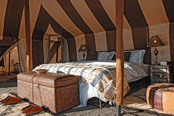 Tent, Erg Chigaga Luxury Desert Camp