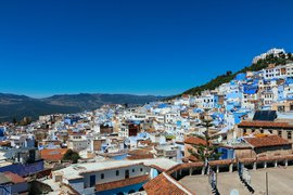 View of Chefchaouen, Morocco.