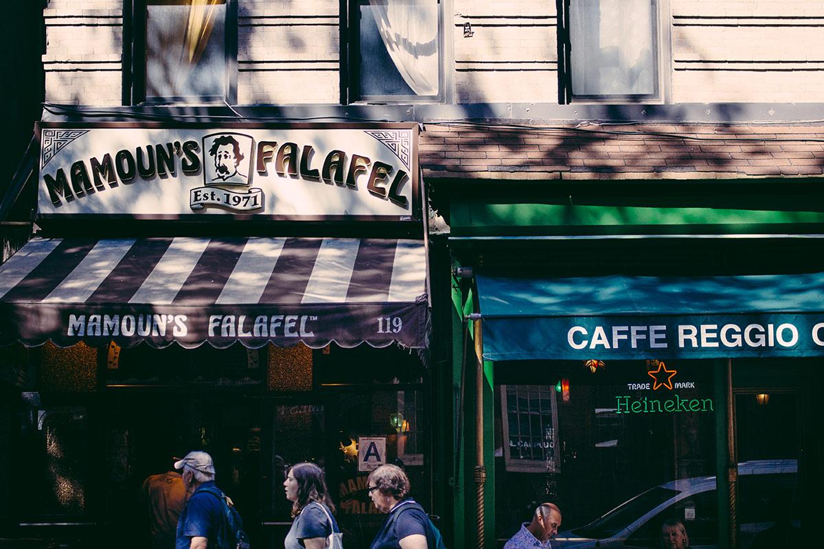Macdougal Street, Greenwich Village