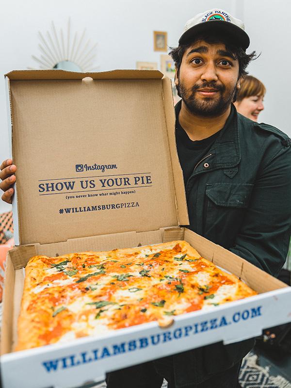 Jamini Popup NYC Pizza