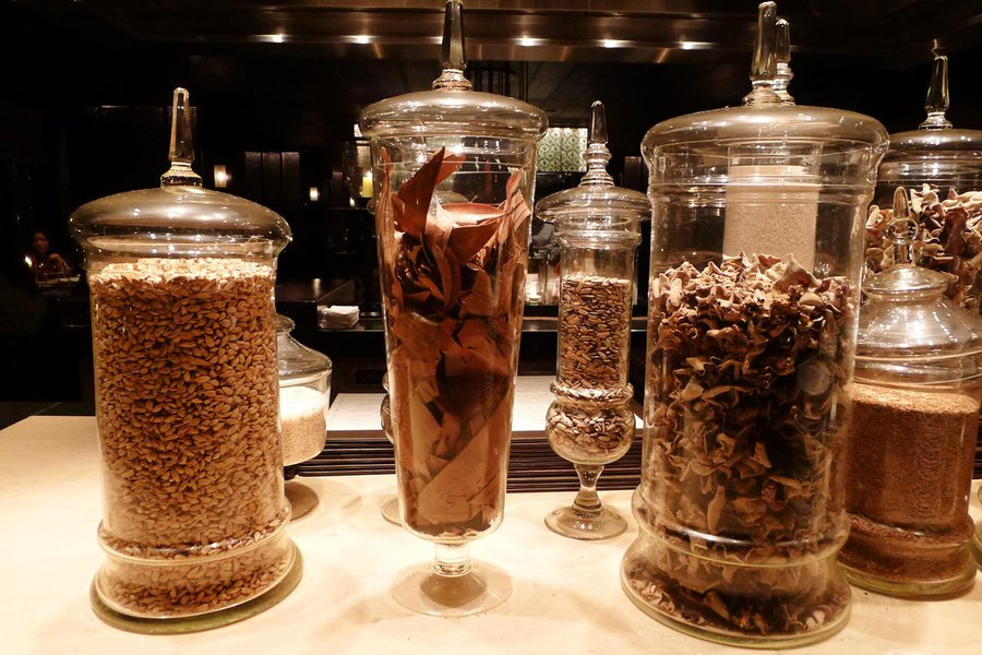 Spices in the Restaurant