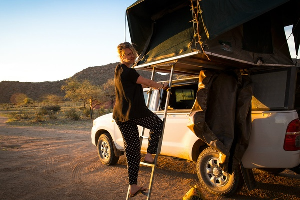 Want to Make the Most of Your Namibian Road Trip? Sleep On