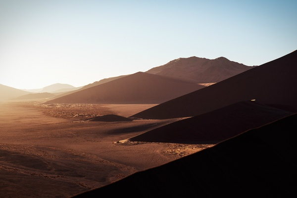 Sossusvlei sunrise, Namibia