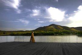 Hidden Lake in Nanjing.