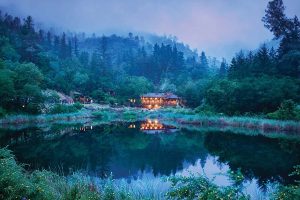 Lakehouse, Calistoga Ranch, Napa, California