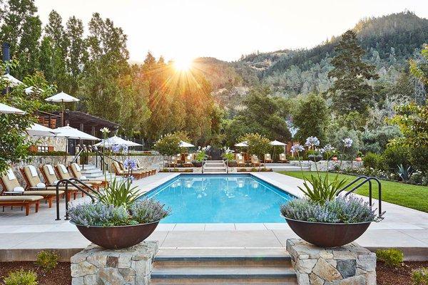 Pool at Calistoga Ranch, Napa, California