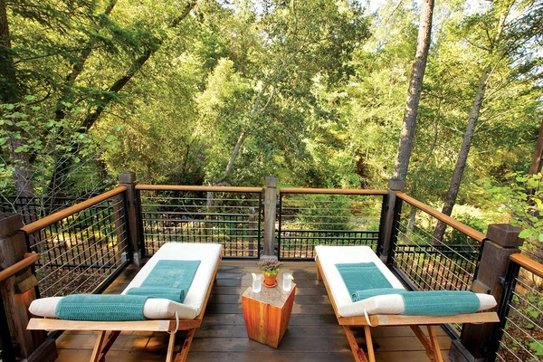 Spa Deck, Calistoga Ranch, Napa, California