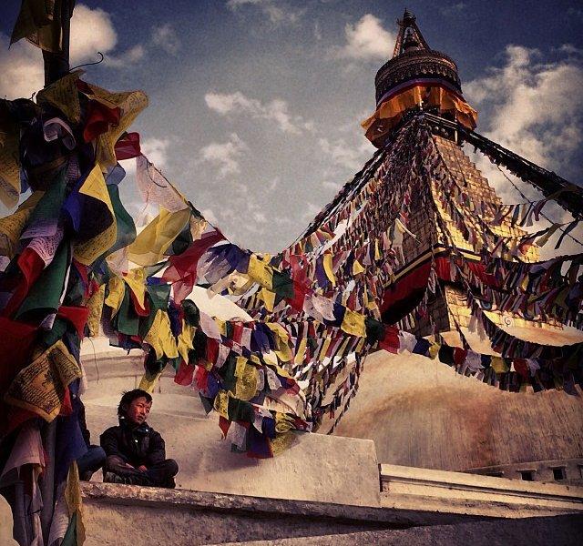 Himalayan Holy Site / @argonautphoto