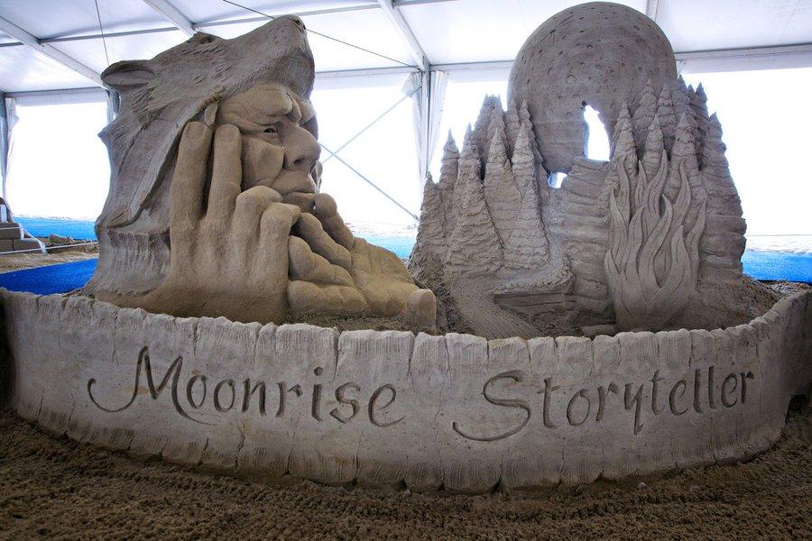 Neptune Festival's International Sand Sculpting Championship