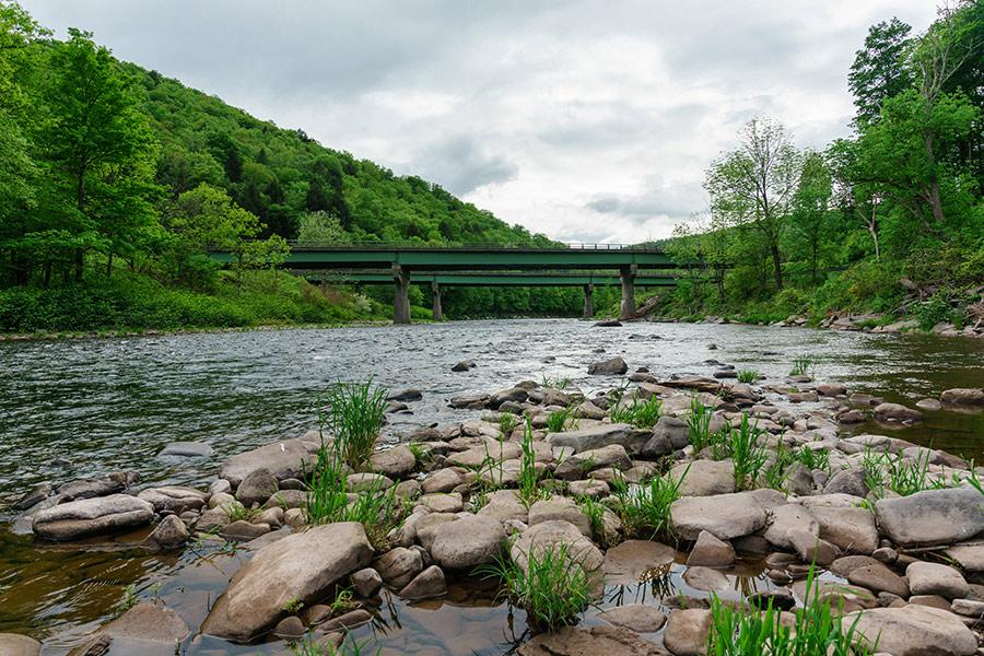 Bridge, Beaverkill, New York