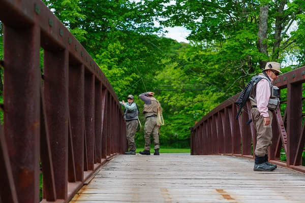 Bridge, Fly Fishing Museum, Livingston Manor, New York