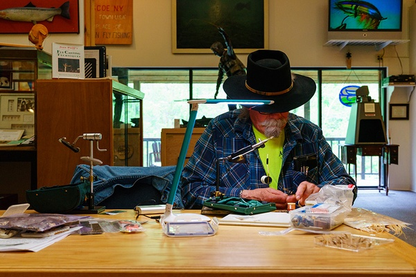 Fly Tying, Fly Fishing Museum, New York