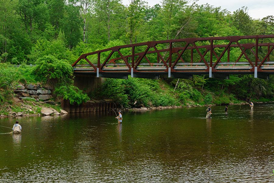 Hazel Bridge Pool, Willowemoc, New York