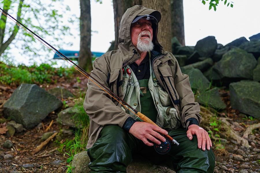 Fisherman, Wulff Run, Willowemoc, New York