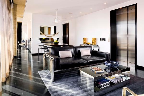 Living Room, Suite, Sixty LES