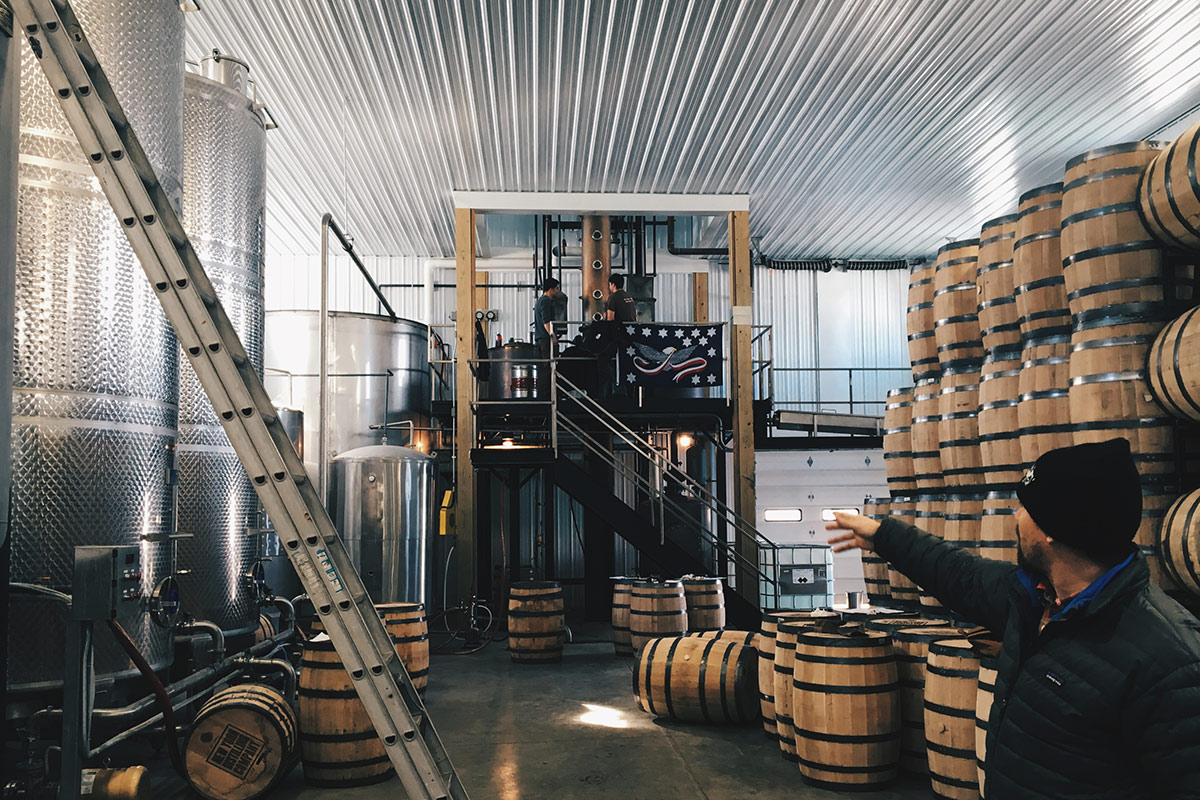 Warwick Valley Winery and Distillery, Hudson Valley, New York