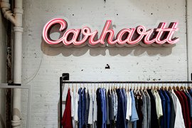 Carhartt in New York City.