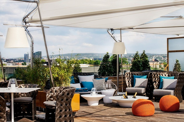 Rooftop at The Thief Hotel, Oslo, Norway