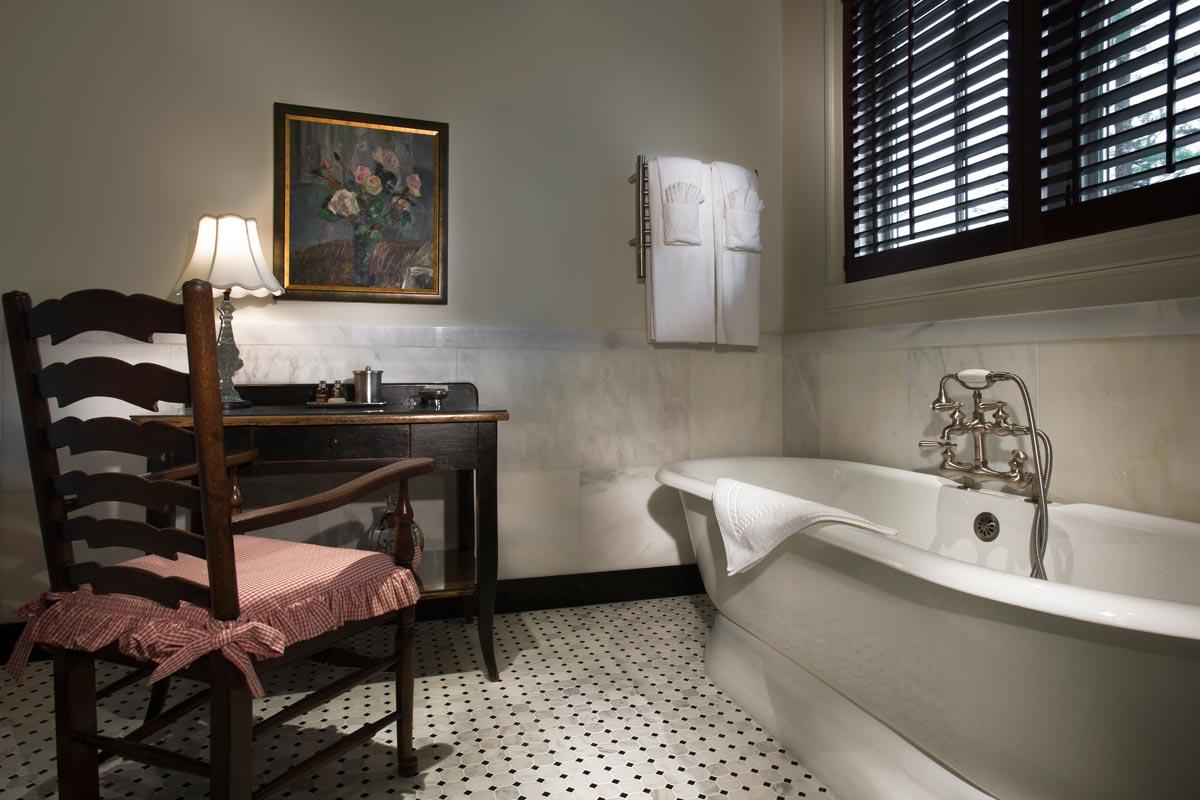 Fall Cottage Bath
